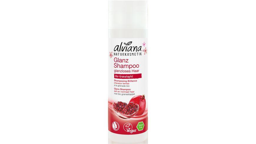 alviana Glanz Shampoo Bio Granatapfel