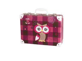 Handarbeitskoffer fuer Kids Olivia the owl