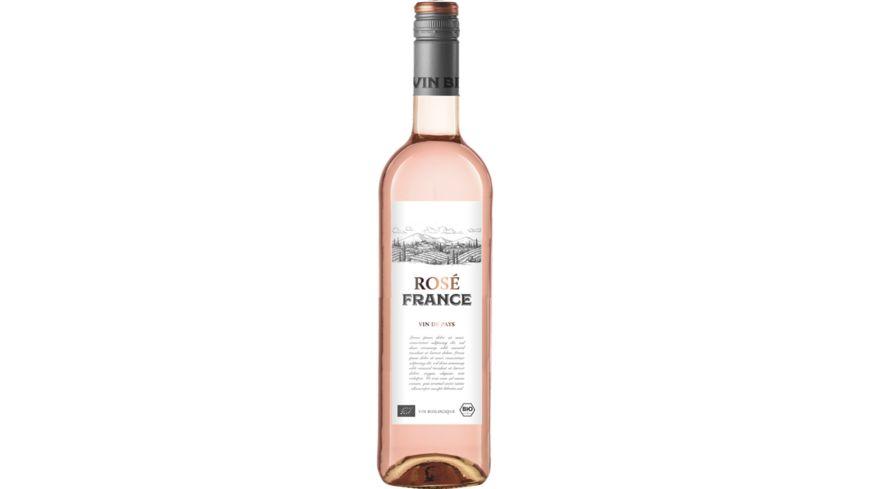 Rose France Bio Vin de Pays 2012