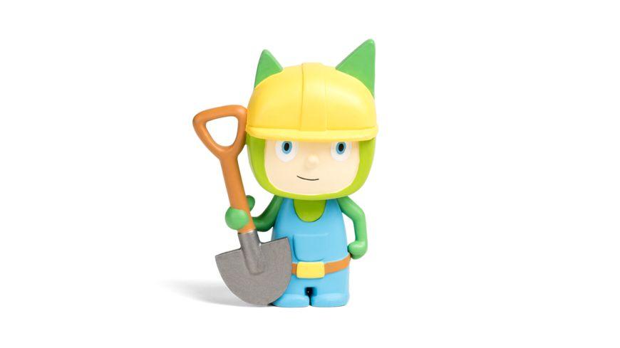 tonies Hoerfigur fuer die Toniebox Kreativ Tonie Bauarbeiter