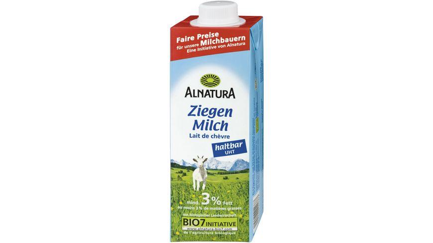 Alnatura Haltbare Ziegenmilch 3 Fett