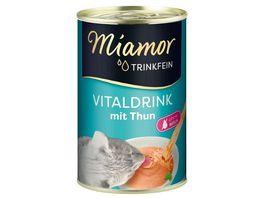 Miamor Katzengetraenk Trinkfein Vitaldrink mit Thunfisch