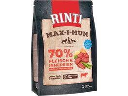 RINTI Hundetrockenfutter Maximum Rind