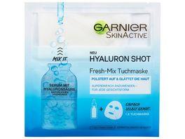 GARNIER SkinActive Hyaluron Shot Fresh Mix Tuchmaske