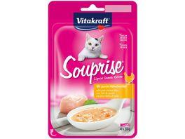Vitakraft Katzensnack Souprise mit Huehnchenfilet