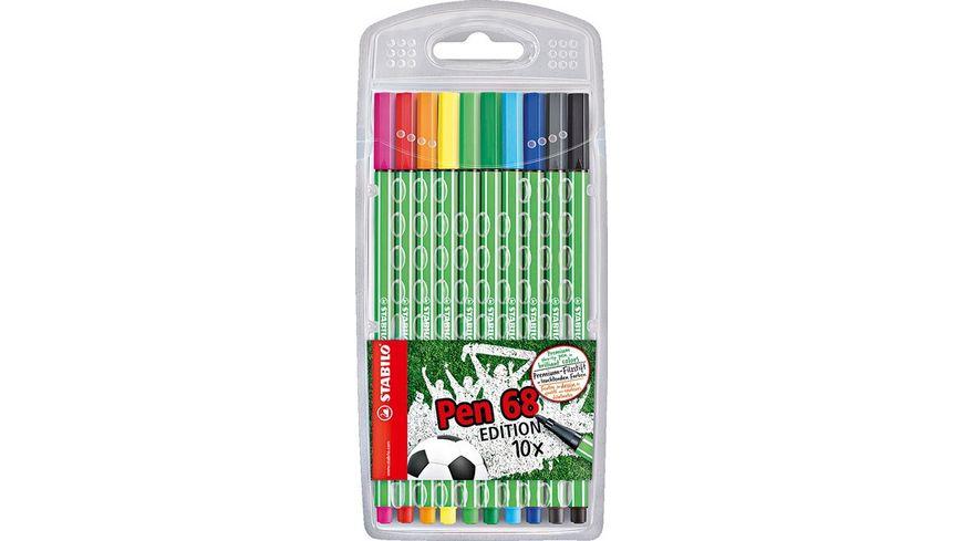 STABILO Fasermaler Pen 68 Green Edition
