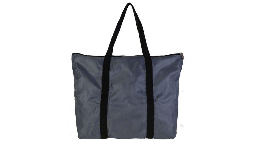 SIR HENRY Einkaufstasche faltbar grau