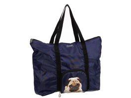SIR HENRY Einkaufstasche faltbar blau