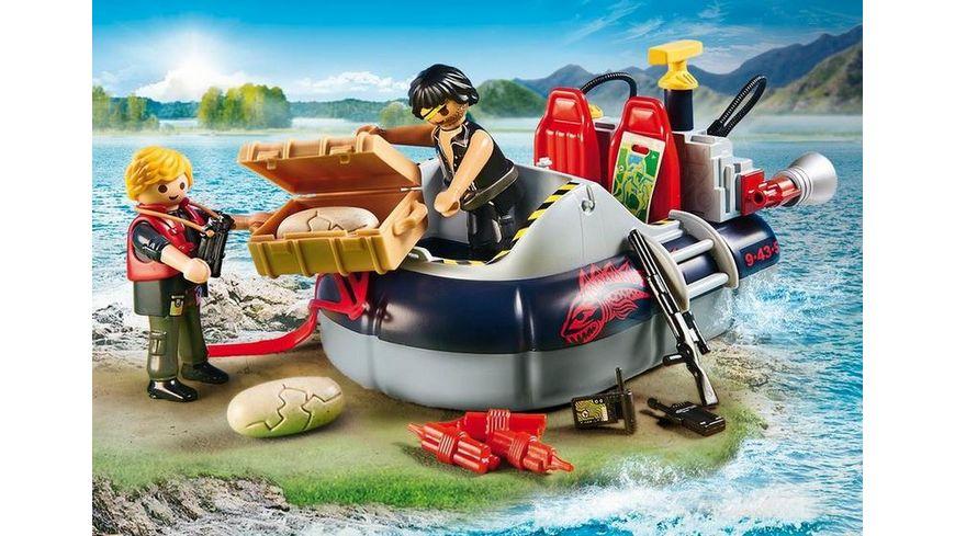 PLAYMOBIL 9435 Action Luftkissenboot mit Unterwassermotor