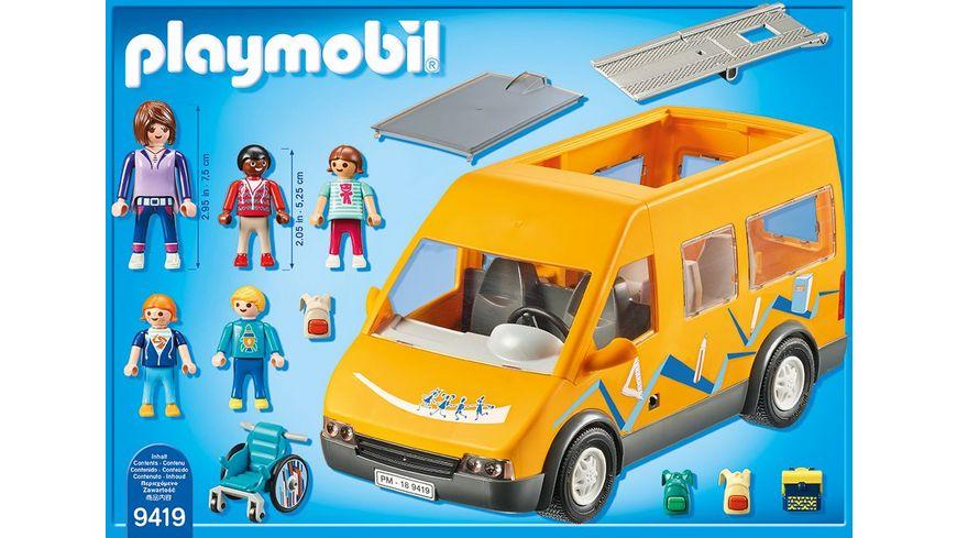 PLAYMOBIL 9419 City Life Schulbus