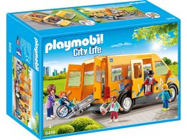 PLAYMOBIL 9419 City Life Schulbus