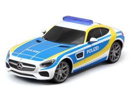 Maisto Tech Mercedes AMG GT Polizei RTR
