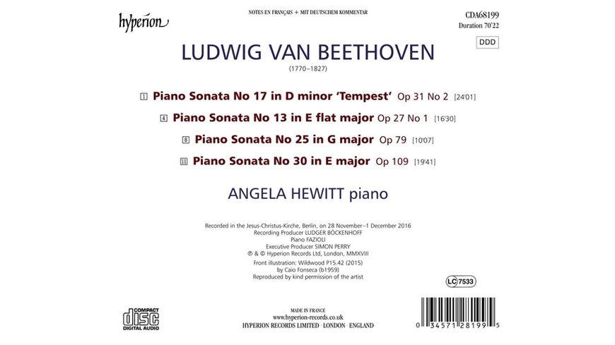 Klaviersonaten Opp 27 1 31 2 79 109