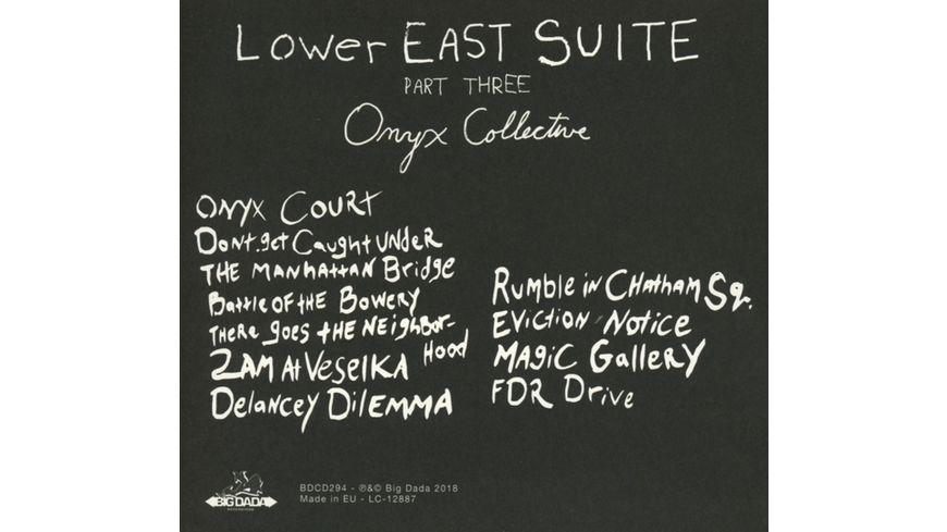 Lower East Suite Part Three