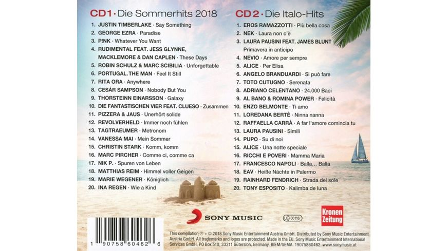 Super Sommer Hits 2018