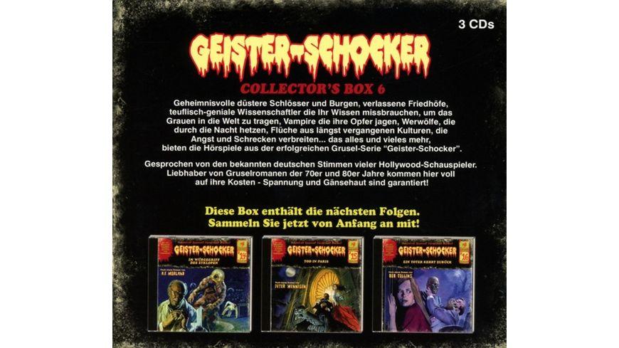 Geister Schocker Collector s Box 6 Folge 14 16