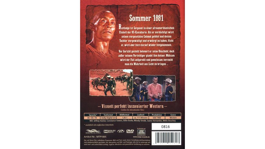 Der schwarze Sergeant streng limitierte und serialisierte Auflage von 3 000 Stueck