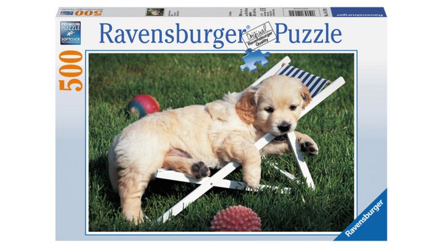 Ravensburger Puzzle Golden Retriever 500 Teile