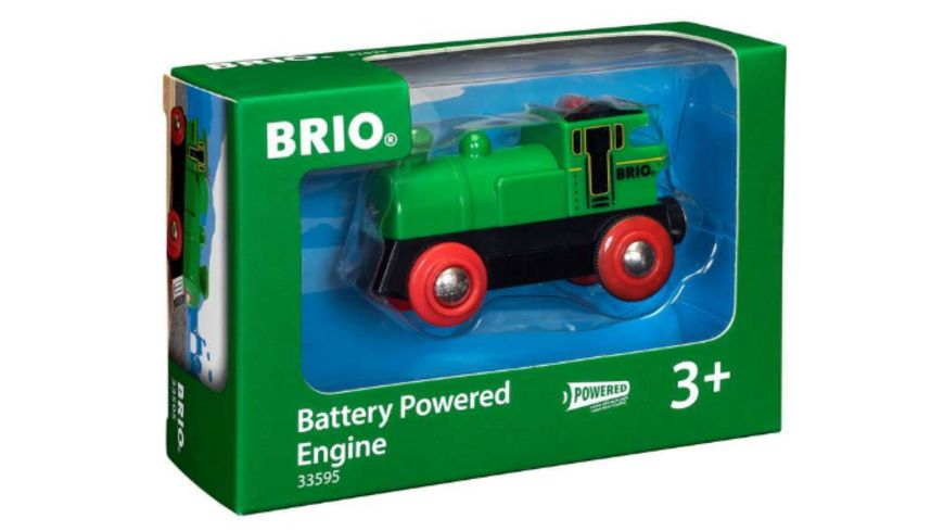 BRIO Bahn Speedy Green Batterielok