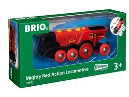 BRIO Bahn Rote Lola Batterielok