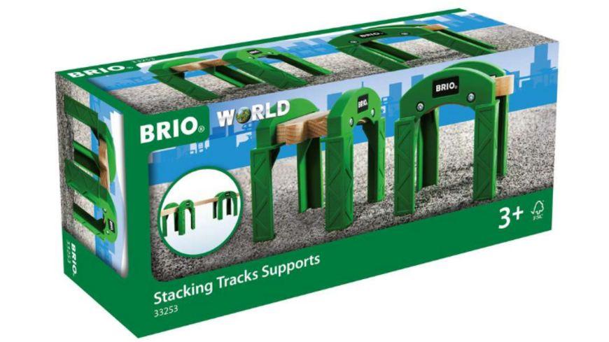 BRIO Bahn - Stapelbares Brückensystem