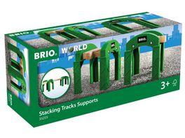 BRIO Bahn Stapelbares Brueckensystem