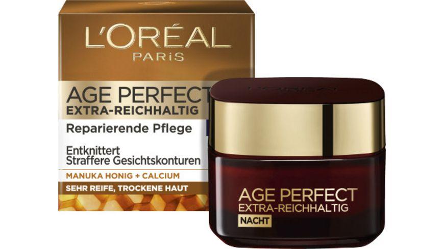 L OREAL PARIS Age Perfect Extra Reichhaltig Reparierende Intensivpflege Nacht