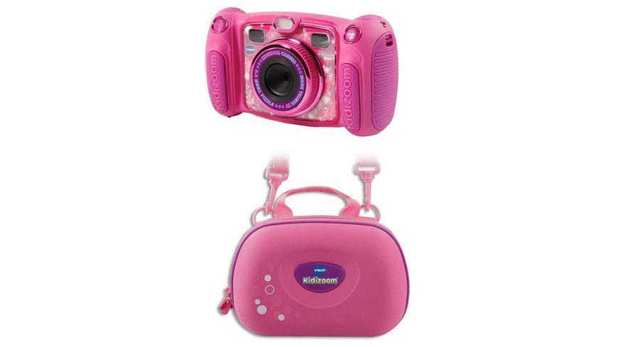 VTech Kidizoom Duo 5 0 pink Bundle