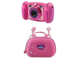 VTech Kidizoom Duo 5 0 pink Bundle