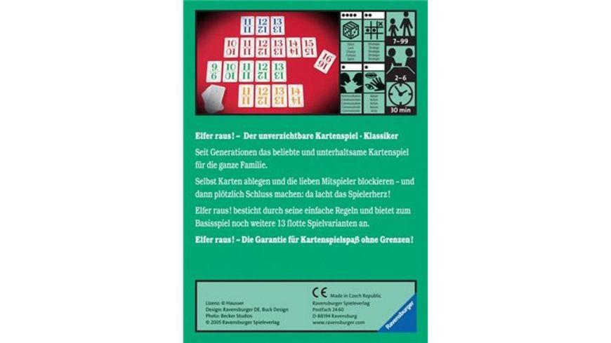 Ravensburger Spiel Elfer raus