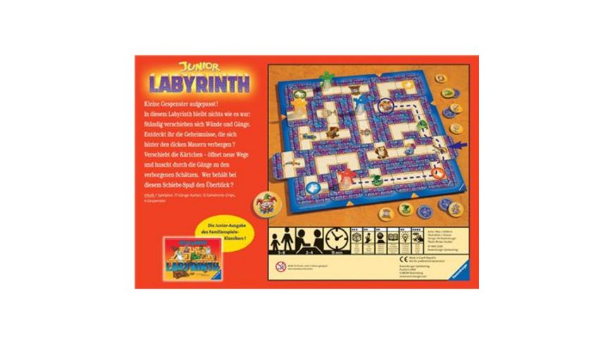 Ravensburger Spiel Junior Labyrinth