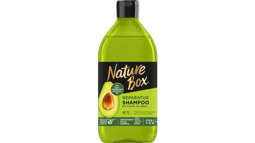 Nature Box Shampoo Avocado Oel