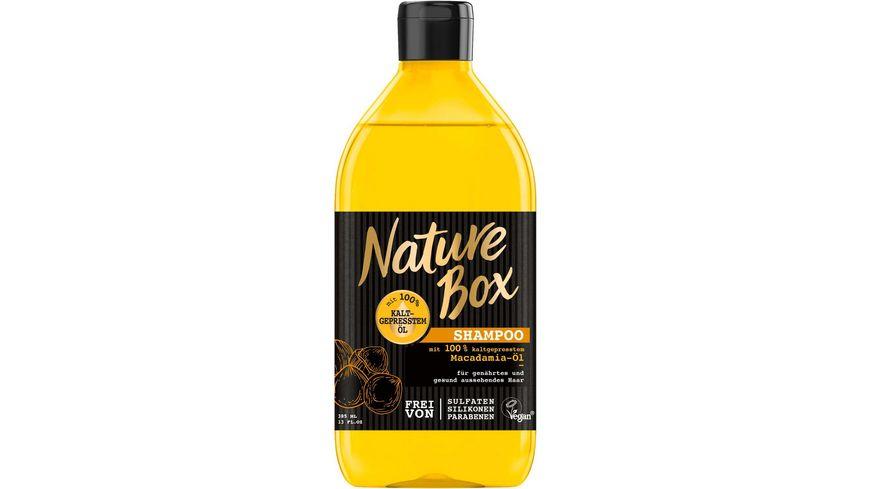 Nature Box Shampoo Macadamia Oel