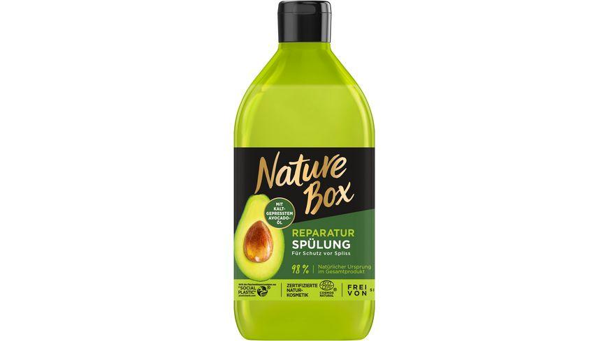 NATURE BOX Reparatur Spuelung Avocado Oel