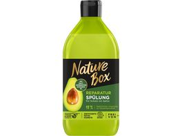 NATURE BOX Reparatur Spuelung Avocado Oel
