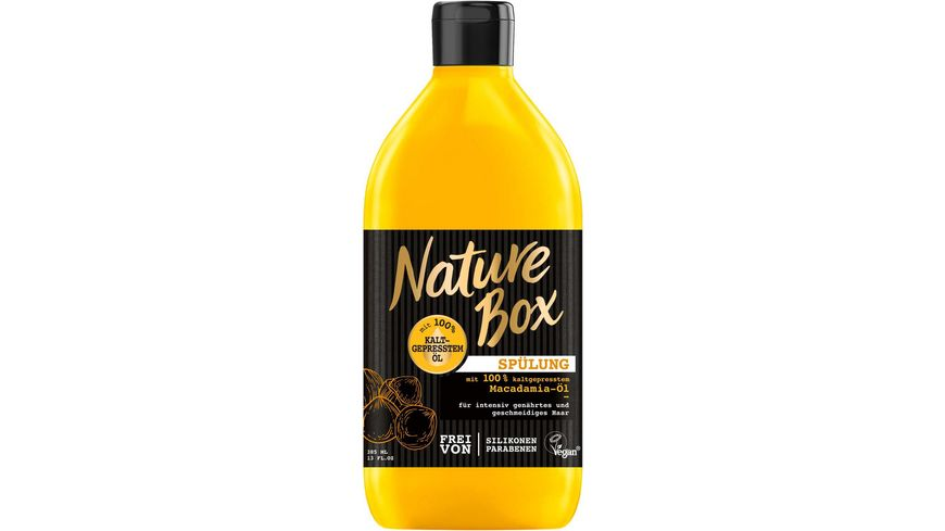 Nature Box Spuelung Macadamia Oel