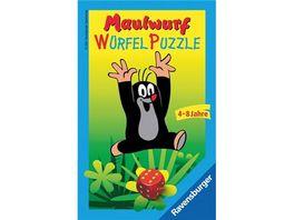 Ravensburger Spiel Mitbringspiel Maulwurf Wuerfelpuzzle