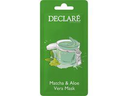 DECLARE Matcha Aloe Vera Mask