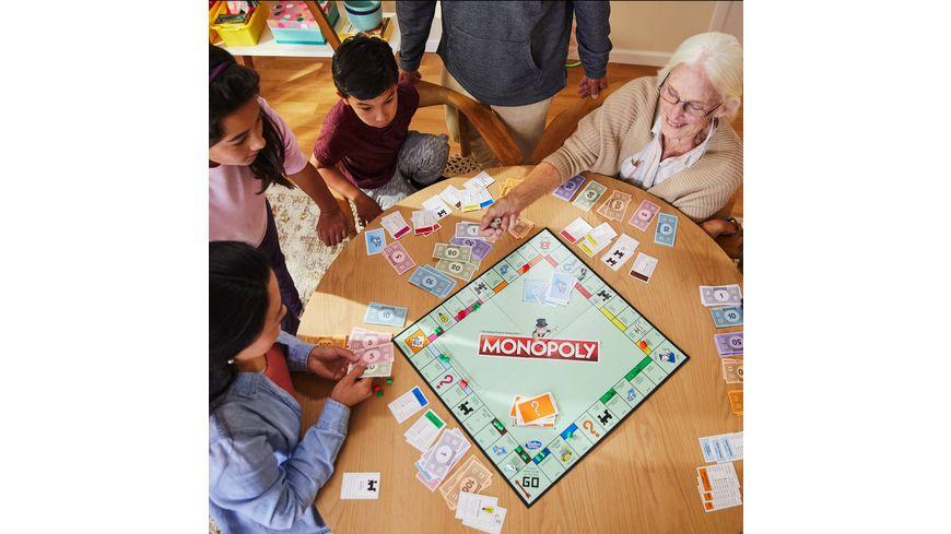 Hasbro Gaming Monopoly Classic deutsche Version