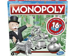 Hasbro Gaming Monopoly Classic deutsche Version