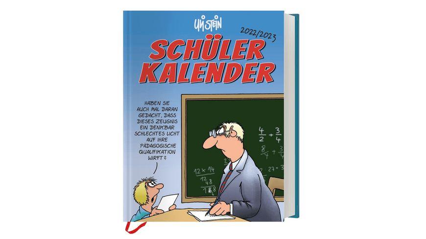 Schuelerkalender 2018 2019 Uli Stein