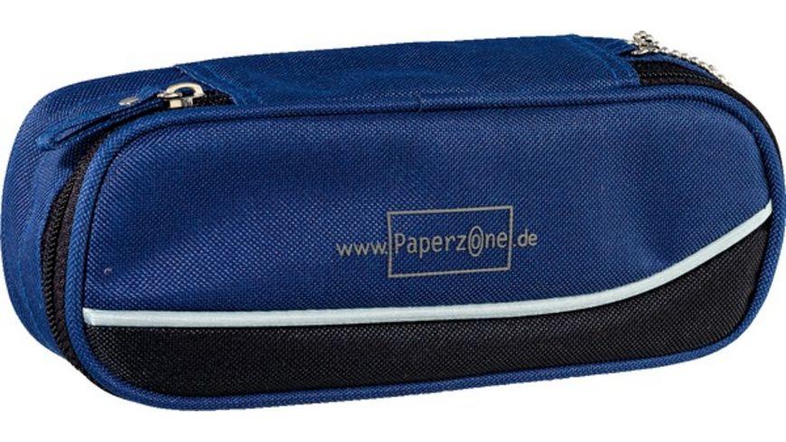 PAPERZONE Schlamperbox blau