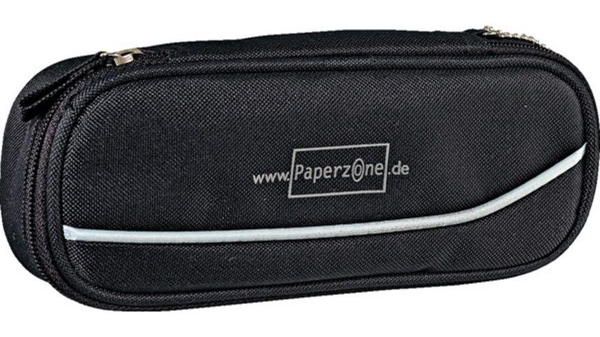 PAPERZONE Schlamperbox schwarz