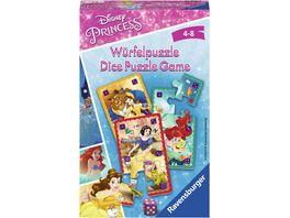 Ravensburger Spiel Mitbringspiel Disney Princess Wuerfelpuzzle