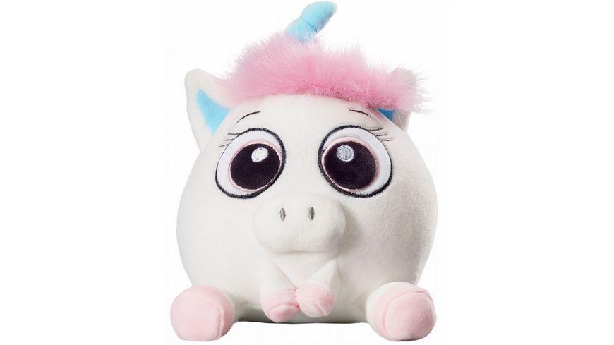 Bauer Deine Tiere mit Herz Einhorn pink 13cm