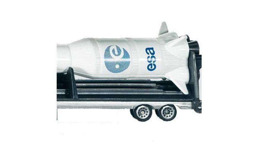 SIKU 1614 Super Tieflader mit Rakete