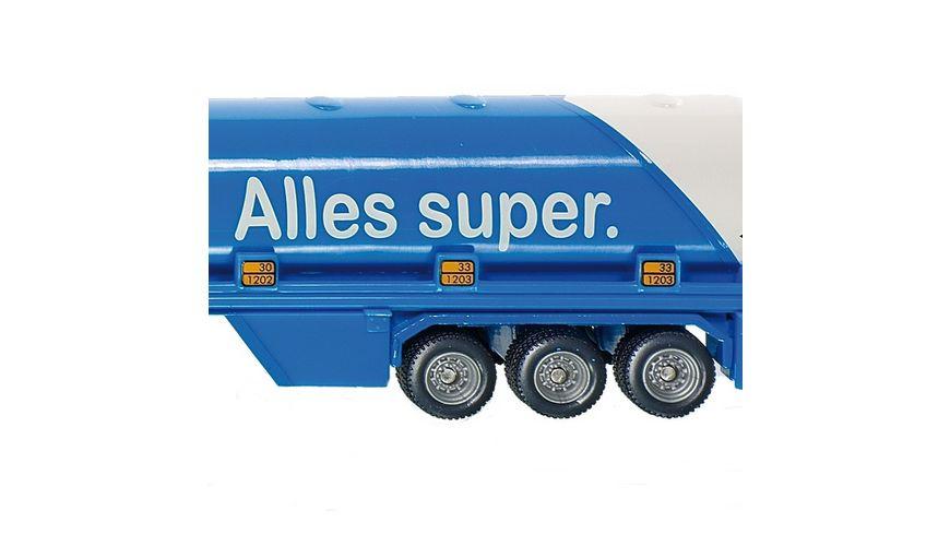 SIKU 1626 Super Tanksattelzug