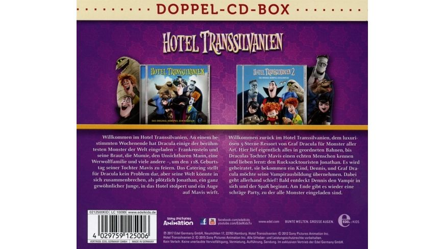 Hotel Transsilvanien Doppel Box