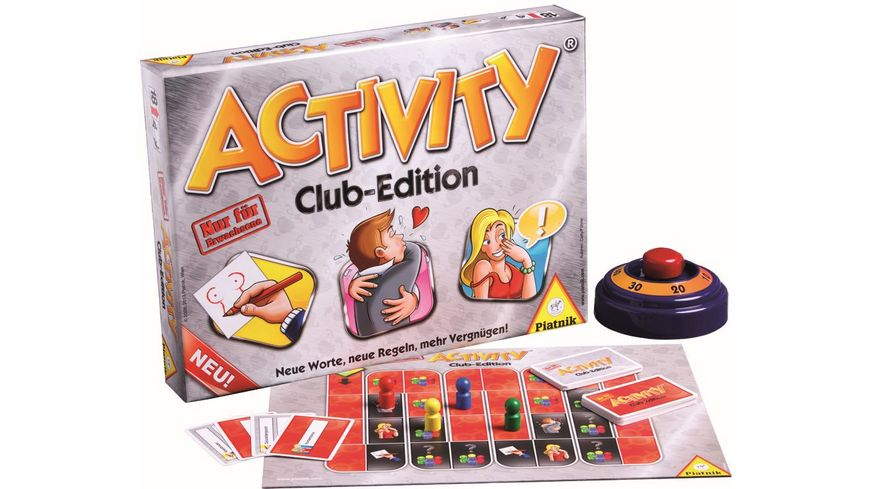 Piatnik Activity Club Edition Neu