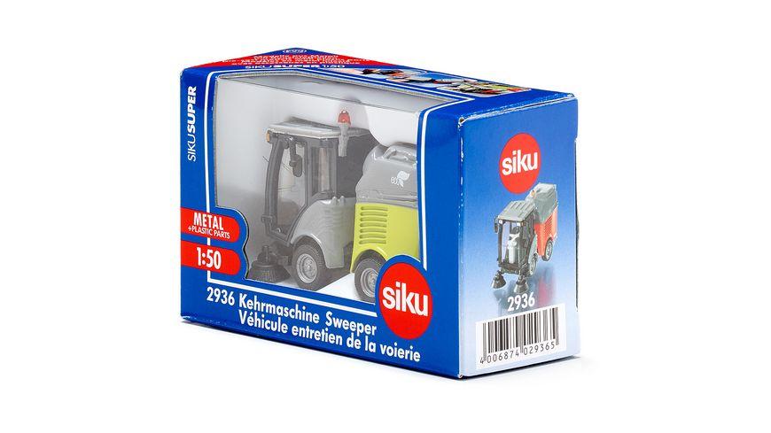 SIKU 2936 Super Kehrmaschine